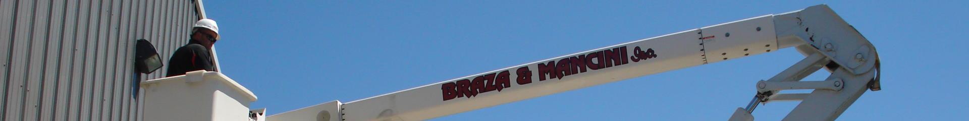Braza and Mancini Boom Truck