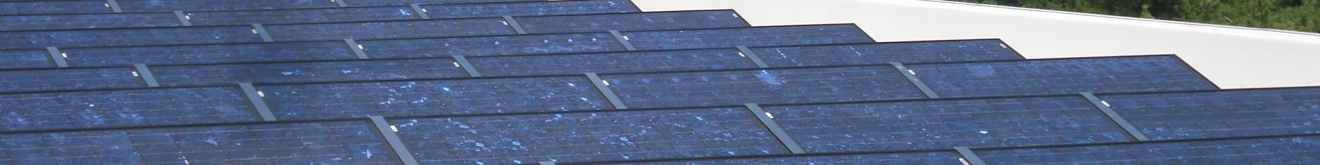 Solar Array on Roof